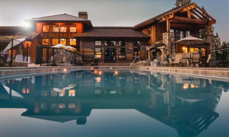 Große Immobilie mit Pool